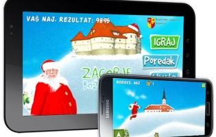 "Krapinsko – zagorska županija dala izraditi igricu ""Zagorje Božićna Igra"" za mobilne uređaje i tablete"