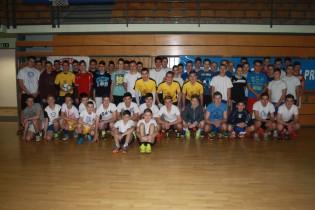 Pobjednici malonogometne ekipe Teletabisa i Javora