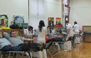 U dvodnevnoj akciji dobrovoljnog darivanja prikupljeno 229 bočica krvi