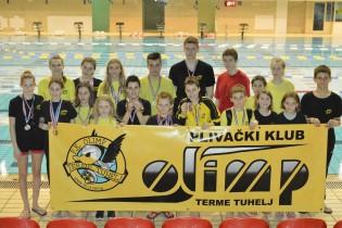 Olimpovci se iz Siska vratili s ukupno 195 medalja