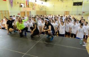 Više od 120 krapinskih srednjoškolaca vježbalo s Renatom Sopek