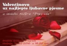 Radionice, koncert i večer poezije za zaljubljene u Gradskim knjižnicama u Krapini, Pregradi i Zlataru