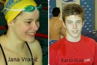 Jana Vranić i Karlo Iljaš iz PK Olimp osvojili sedam medalja za Hrvatsku