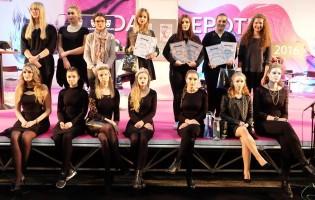 Gloria Čiček druga na godišnjem make up natjecanju Učilišta Profokus