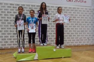 Antonela Cesarec iz Krapine državna prvakinja u kickboxing disciplini point fighting