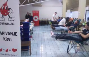 U izvanrednoj akciji, prikupljeno 27 doza krvi