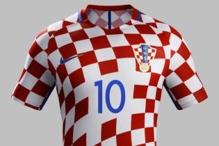 Nike predstavio novi hrvatski dres za Euro 2016.