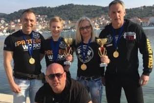 Srele brutal Team za pet – pet natjecatelja osvojilo pet zlata i srušilo isto toliko rekorda