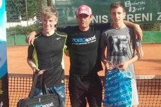 Mladi zlatarski tenisač Nikola Žeželj u Zadru osvojio Polleo kup
