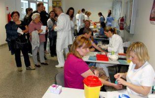 U Općoj bolnici Zabok vađenju krvi i ultrazvuku odazvalo se oko 130 građana