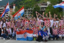 Danas opet autopovorka u Krapini, još veća i još bolja, kao podrška Vatrenima pred utakmicu s Češkom!