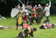 Veliki okršaj vitezova na prostoru Muzeja seljačkih buna posjetitelje vratio u srednji vijek