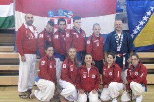 Članovi Nanbudo kluba Marija Bistrica nastupajući za Hrvatsku osvojili šest pojedinačnih i četiri ekipne medalje