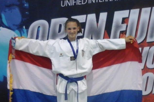 Sandra Helena Tkalčević osvojila europsko zlato u taekwondou