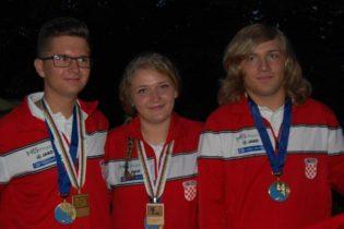 Martin u seniorskoj, a Mihaela Oborovečki u juniorskoj konkurenciji, okitili se zlatom
