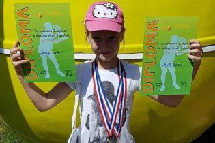 Lana Gršić iz Zlatara druga na teniskom turniru u Samoboru