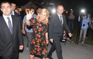 Predsjednica RH Kolinda Grabar – Kitarović: Volim ove zagorske popevke i večeras ću uživati