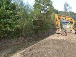 Uređuje se potok kod graničnog prijelaza u Gornjem Maclju