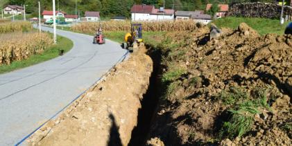 Izgradnja vodoopskrbnog sustava u Ravninskom i Zagorskoj Koprivnici