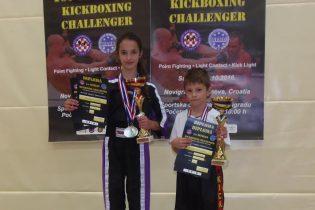 Borna Topolovec i Antonela Cesarec osvojili šest medalja i pehare za najuspješnije natjecatelje