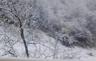 Zagorske brege zabijelio prvi snijeg