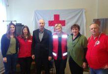 Gradski Crveni križ posjetili čelnici Županije