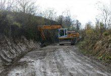 Nastavljeni radovi na cesti između Svetog Mateja i Planine Gornje