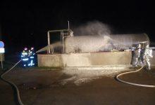Humčani sa Slovencima gasili veliki požar u OMCO-u