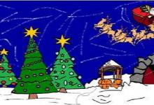 """Predstava za djecu """"Snježna staza dobrog Djeda Mraza"""""""