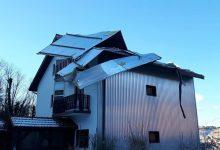 Olujni naleti ledenog vjetra odnijeli krov na obiteljskoj kući