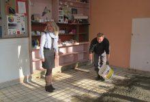 Počelo betoniranje poda u učionici likovne kulture
