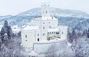 Pogled na dvorac u bijelom ispričat će vam najljepšu bajku