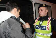 Ovog vikenda policijska akcija nadzora vozača pod utjecajem alkohola