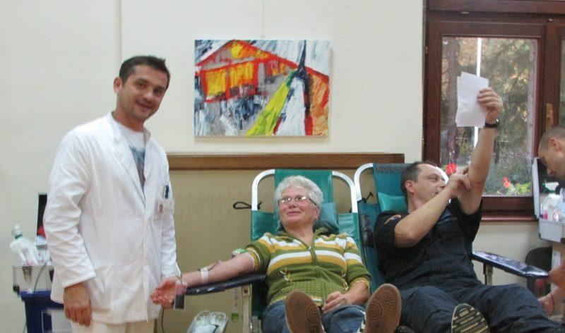 Krv možete dati u prostorijama POU-a te u Đurmancu