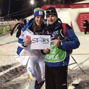 Ulovilo se vremena i za fotografiranje sa slavnim skijašicama