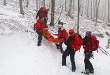 Na snijegom zametenoj Ivanščici, spašavali teško ozlijeđenu i dezorijentiranu osobu