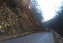 Zbog odrona zemlje kod Kostela, zatvorena cesta između Pregrade i Huma na Sutli