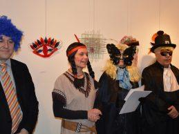 Na jedinstvenoj međunarodnoj izložbi, više od stotinu maski iz Hrvatske i Slovenije, jedna stigla čak iz Ukrajine
