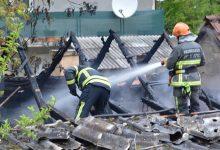 Izgorio dio krovišta obiteljske kuće, šteta nekoliko tisuća kuna