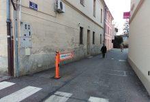 Za manje od tjedan dana, oštećena rampa na ulazu u Šetalište hrvatskog narodnog preporoda u Krapini