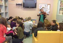 Mališanima poklonili slikovnice i dječje knjige, te ih razveselili pjesmom