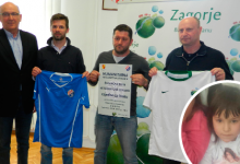 Županova ekipa 6. travnja protiv veterana Dinama, za malu Klanjčanku Ivonu