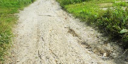 Odobreno 240 tisuća kuna za sanaciju oštećenja na nerazvrstanim makadamskim cestama