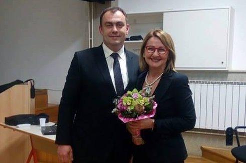 """Vesna Ramljak, predsjednica Europa Donne Hrvatske, održala predavanje na temu """"Znanjem protiv raka dojke"""""""