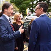 S predsjednicom RH i direktorom Bloomberga u Londonu 2016