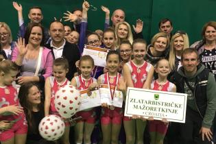 Dorotea Borić druga, Lana Dlesk treća, a odlično treće mjesto osvojile i juniorke s mini mix formacijom