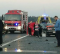 Tri osobe ozlijeđene u sudaru dva osobna automobila i kombi vozila