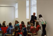 Mali Humčani posjetili Općinu i načelnika Jutrišu