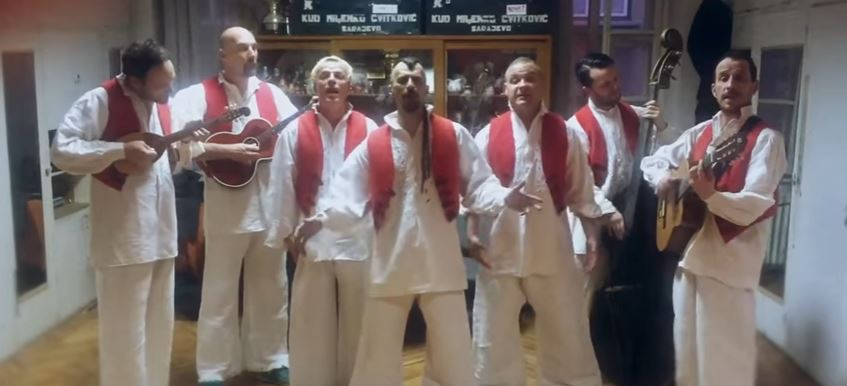 Članovi Dubioze kolektiv na najoriginalniji način najavili svoj koncert u Domu sportova