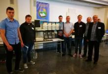 Borna Novački, Mario Čukman, Mario Kurek  i Filip Hubak iz SŠ Zlatar osvojili treće mjesto na Državnoj smotri